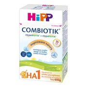 HiPP 1 HA Combiotik, mleko początkowe, proszek, 600 g