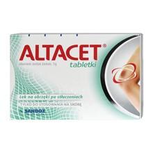 Altacet, 1 g, tabletki, 6 szt.