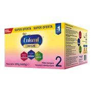 Enfamil Premium MFGM 2 mleko modyfikowane, następne, w proszku, 3200 g (4 x 800 g)