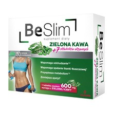Be Slim Zielona Kawa, tabletki powlekane, 30 szt.