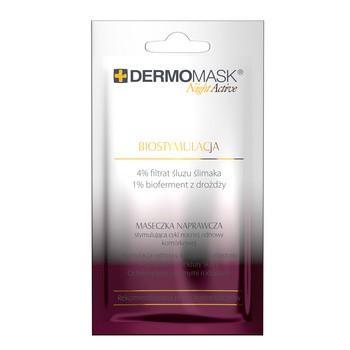 Dermomask Night Active Biostymulacja, maseczka naprawcza,12 ml