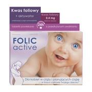 Folic Active Uniphar, tabletki powlekane o przedłużonym uwalnianiu, 30 szt.