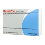 Dexak SL, 25 mg, granulat do sprządzania roztworu doustnego w saszetkach, 10 szt. (import równoległy, LGO)