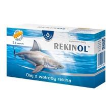 Rekinol, 500 mg, kapsułki żelatynowe, 72 szt.