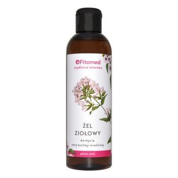 Fitomed Mydlnica lekarska, żel ziołowy do mycia twarzy do cery suchej, 200 ml
