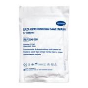Gaza jałowa, bawełniana, 17-nitkowa, 1/2 m2