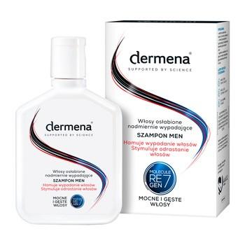 Dermena Hair Care, Men, szampon hamujący wypadanie i stymulujący odrastanie włosów, 200 ml