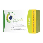 Demopia Demodex, sterylne chusteczki do profesjonalnej higieny powiek, rzęs oraz twarzy, 60 szt.