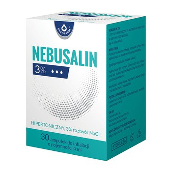 Nebusalin 3%, roztwór do inhalacji, 4 ml, 30 ampułek