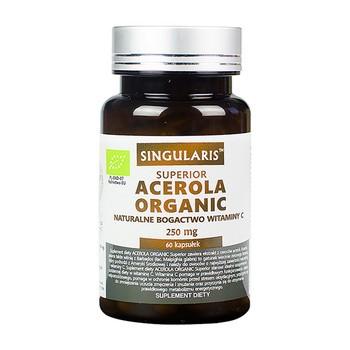 Singularis Acerola Organic 17% (250 mg), kapsułki, 60 szt.