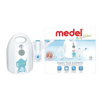 Inhalator Medel Family Plus Elephant, 1 zestaw