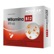 Witamina B12 Activlab Pharma, 500 µg, kapsułki, 30 szt.