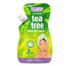 Beauty Formulas, maseczka oczyszczająca do twarzy, tea tree peel off, 50 ml