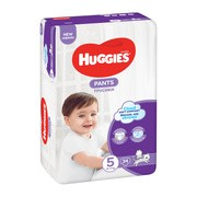 Huggies Pants 5 (12−17 kg), pieluchomajtki, 34 szt.