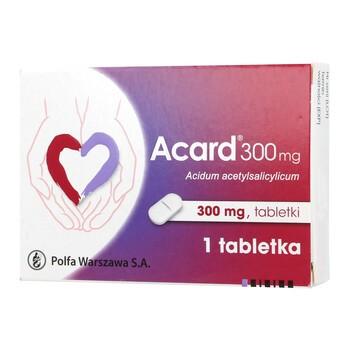 Acard, 300 mg, tabletka, 1 szt.