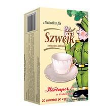 Herbata Szwejk, fix, 2 g, saszetki, 20 szt.