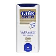 Sussina Gold, słodzik, tabletki, 500 szt.