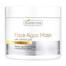 Bielenda Professional, maska algowa do twarzy z koloidalnym złotem, 190 g