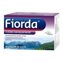 Fiorda, pastylki do ssania, 60 szt.