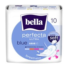 Bella Perfecta Ultra Blue, ultracienkie podpaski, bezzapachowe, 10 szt.