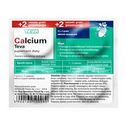 Calcium Teva (Calcium Pliva), tabletki musujące, 12 szt. + 2 szt.