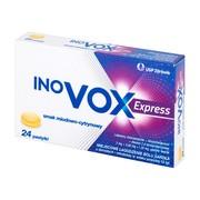 Inovox Express, pastylki twarde, smak miodowo-cytrynowy, 24 szt.