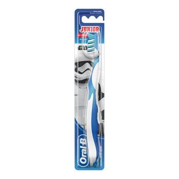 Oral-B Junior, Star Wars, szczoteczka manualna dla dzieci 6-12 lat, extra soft, 1 szt.