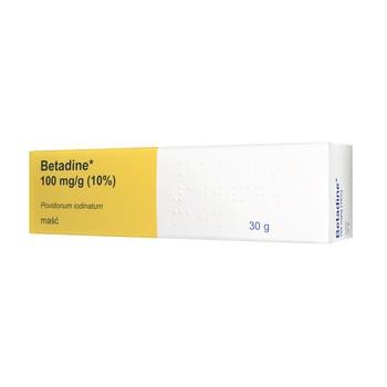 Betadine,10%, maść, 30 g (imort równoległy, Delfarma)