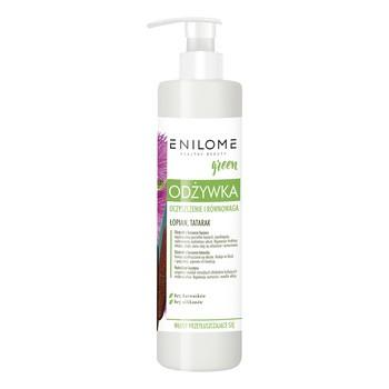 Zestaw Enilome Green Piękne Włosy bez wysiłku Oczyszczanie i równowaga