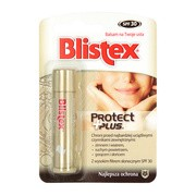 Blistex Protect Plus, balsam do ust, SPF 30, 4,25 g