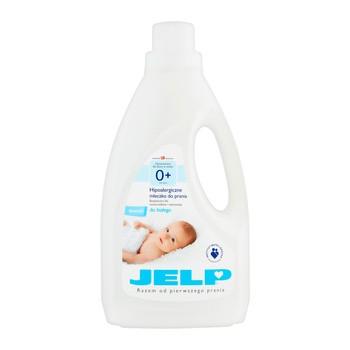 JELP 0+ Mleczko do prania białego, 1,5 l