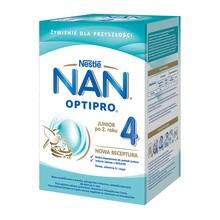 Nestle Nan Optipro 4, mleko modyfikowane Junior dla dzieci powyżej 2. roku życia, 800 g