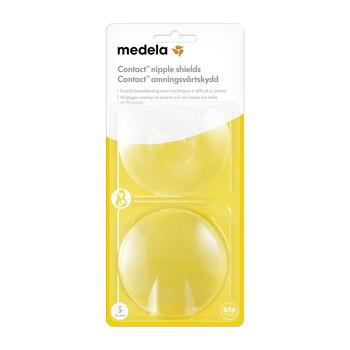 Medela Contact, nakładki silikonowe, rozmiar S, 2 szt.