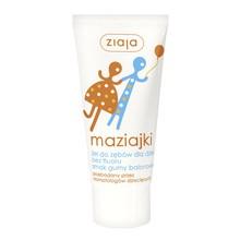 Ziaja Maziajki, żel do zębów dla dzieci bez fluoru, smak gumy balonowej, 50 ml