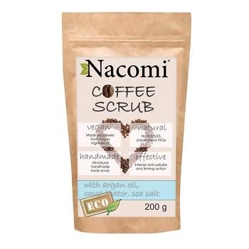 Nacomi, suchy peeling do ciała, kawa, 200 g