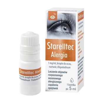 Starelltec Alergia, 1 mg/ml, krople do oczu, 5 ml (butelka)