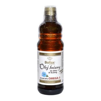 Olej lniany Boflax, dieta Dr. Budwig, 500 ml