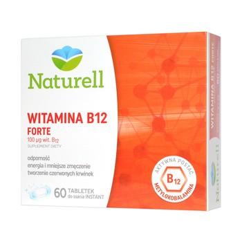 Naturell Witamina B12 FORTE, tabletki do ssania, 60 szt.