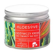 Aloesove, Odżywczy krem do twarzy na noc, 50 ml