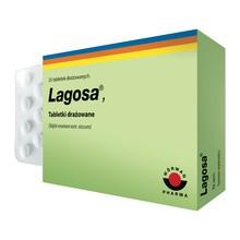 Lagosa, 150 mg, tabletki drażowane, 25 szt.