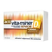 Acti Vita-miner Senior D3, tabletki, 60 szt.