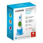 Termometr Controly elektroniczny do ucha i czoła, 1 szt.
