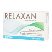 Relaxan, tabletki powlekane, 30 szt.