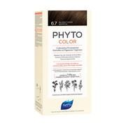 Phyto Color, farba do włosów, 6.7 ciemny czekoladowy blond, 1 opakowanie