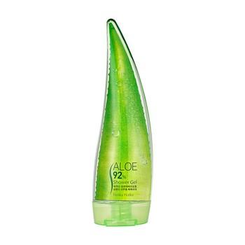 Holika Holika Aloe 92% Shower Gel, delikatny żel pod prysznic z 92% zawartością soku z aloesu, 250ml