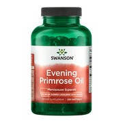 Swanson Evening Primrose Oil, 500 mg, kapsułki, 250 szt.