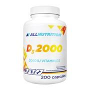 Allnutrition D3 2000, kapsułki, 200 szt.