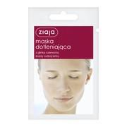 Ziaja, maska dotleniająca z glinką czerwoną, 7 ml (saszetka)