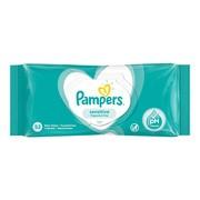 Pampers Sensitive, chusteczki nawilżane dla niemowląt, 52 szt.