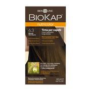 Biokap Nutricolor, farba do włosów, 6.3 ciemny złoty blond, 140 ml